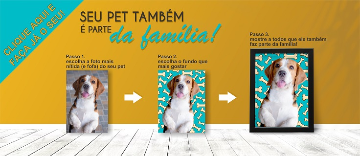 Pet Art, Transforme a foto de seu Pet em arte