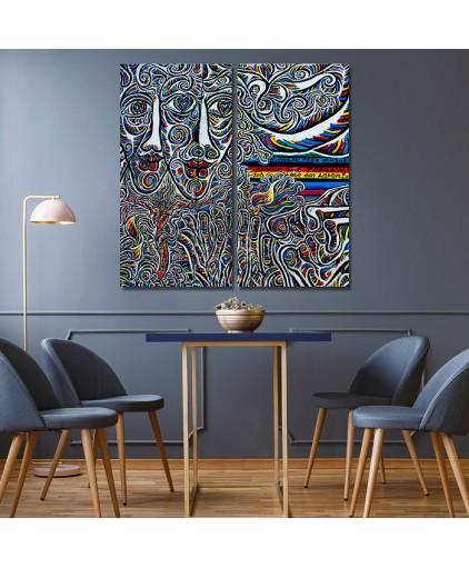 Mosaico Duplo Cód. 13