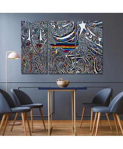 Mosaico Triplo Cód. 13